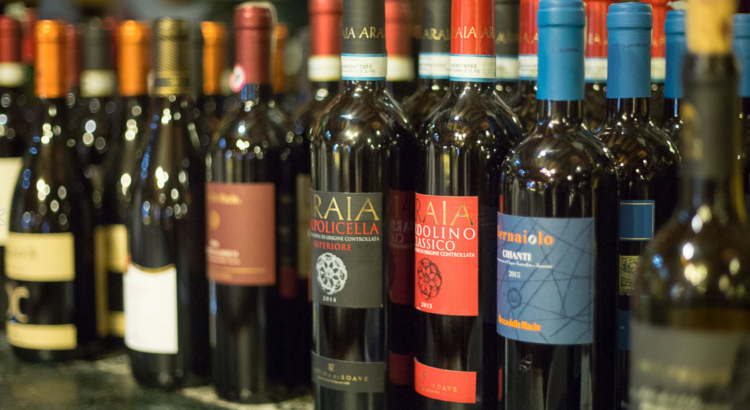 our types of Italian wine